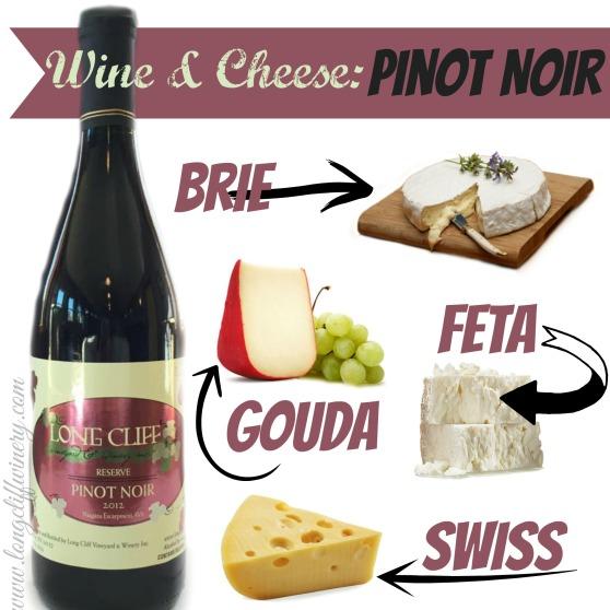 Pinot Noir Cheese Graphic