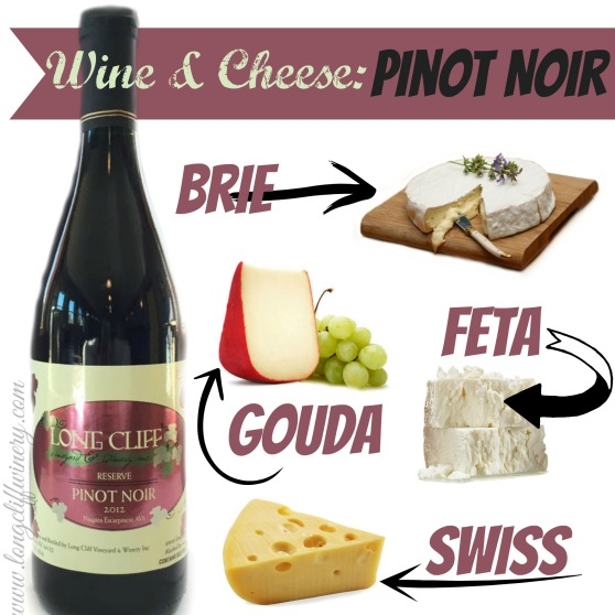 Pinot Noir Cheese Graphic